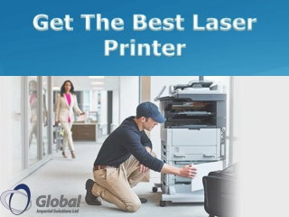 Get The Best Laser Printer