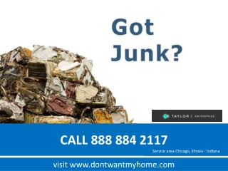 Junk removal service from Chicago