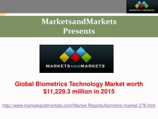 Research Report on Biometrics Technology Market