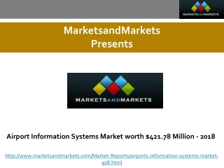 Airport Information Systems Market worth $421.78 Million - 2
