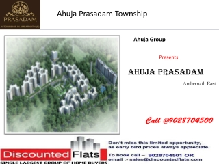 Ahuja Prasadam Ambernath East Mumbai by Ahuja Group