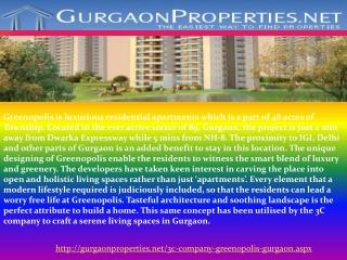 3C Company Greenopolis Gurgaon