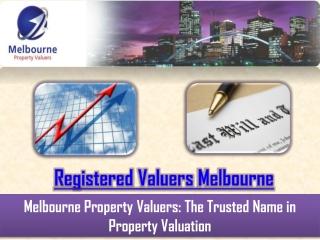 Licensed Property Valuers Melbourne
