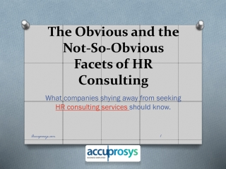 HR Consulting Services Hyderabad