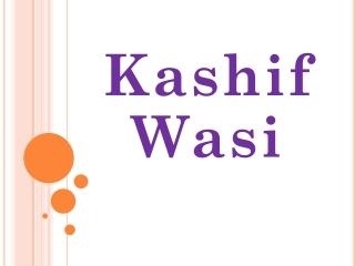 Kashif Wasi - Kashif Wasi