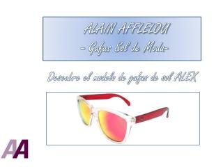 ALAIN AFFLELOU, gafas de sol de moda para el 2014