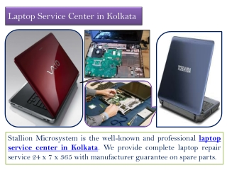 HP Service Center in Kolkata