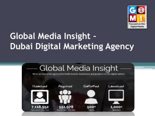 Global Media Insight - Dubai Digital Marketing Agency UAE