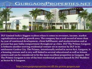 DLF The Primus Gurgaon
