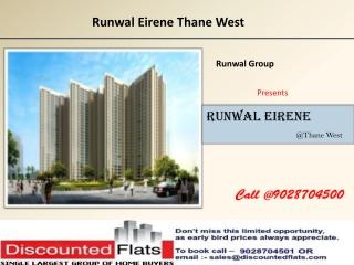 Flats for sale in Runwal Eirene Thane West Mumbai