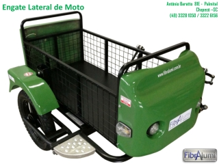 Engate Lateral Para Moto