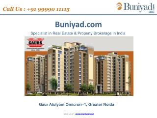 Gaur Atulyam Sector Omicron 1 Greater Noida