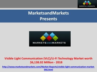Visible Light Communication (VLC)/Li-Fi Technology Market