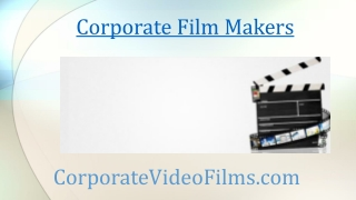 Diligent Corporate Film Makers