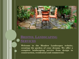 Landscape Gardeners Bristol