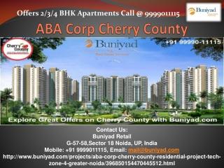 Cherry County Tech-Zone 4 Greater Noida West