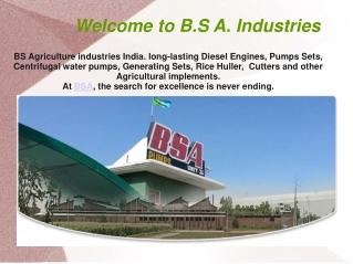 BSA Industries