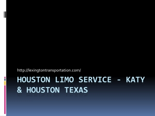 Houston Limo Service - Katy