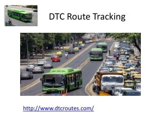 Delhi bus route