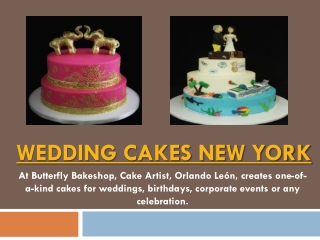 Wedding Cakes New Jersey