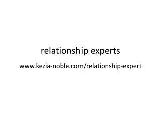 Kezai Noble Tips on relationship expert