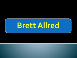 Motivational Speaker - Brett Allred