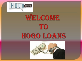 Get car loan in uk via hogo loans