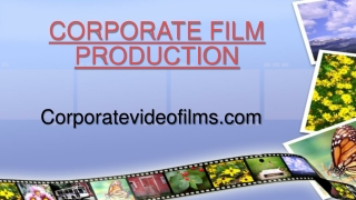 Unbeatable Corporate Film Production
