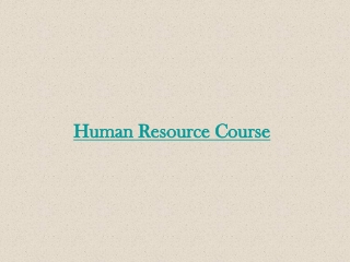 HR Training Institute in Hyderabad