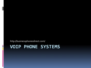 Business Telephones | VoIP Phone Systems