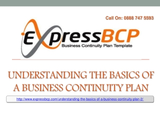 Understanding the Basics of a Business Continuity Plan