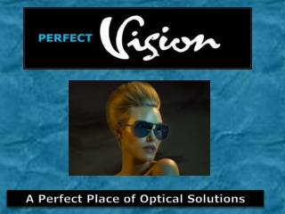 Perfect Vision - Affordable Optometrist in Sydney