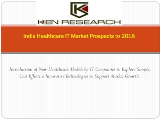 India Healthcare IT Industry Market Research Report