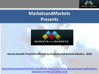 Animal Growth Promoters Market 2018
