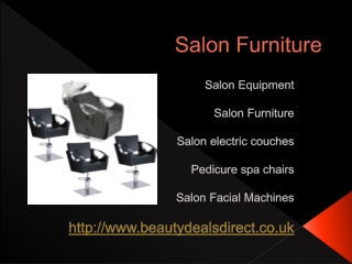 Salon Equipmen,t, Salon Furniture, Salon electric couches