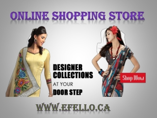 Online Indian clothes Store