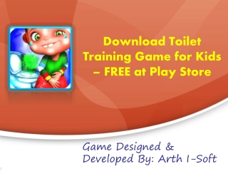 Download Toilet Training Game for Kids