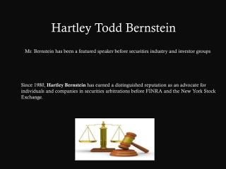 Hartley Bernstein - Law Attorney