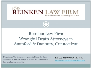 Wrongful Death Attorneys in Stamford & Danbury, Connecticut