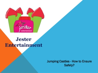 Jumping Castles - How to Ensure Safety