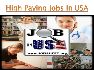 Find USA Jobs