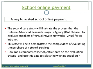 It easy tips for school online payment