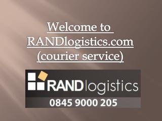 RANDlogistics-Guaranteed door-to-door delivery