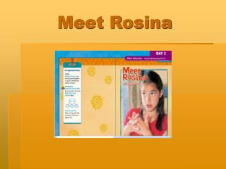 meet rosina