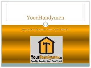 Ottawa Handyman Services
