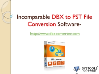 DBX to PST Software