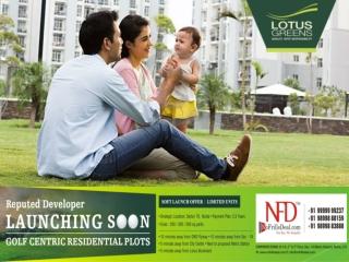 New Residential Lotus Greens Plots Noida @ 9999999237