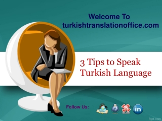 3 Tips to Speak Turkish Language