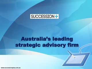 Australia's leading strategic advisory firm