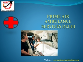 Emergency Air Ambulance Services